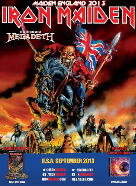 Iron Maiden Megadeth